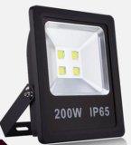 iluminação elevada da inundação do diodo emissor de luz do lúmen Quatily do poder superior elevado de 200W