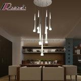 Lampe pendante de villa moderne d'escalier de personnalité d'art de DEL pour la chambre à coucher