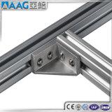 Perfil de aluminio/de aluminio de la protuberancia de la ranura de T y de la ranura de V para la cadena y la máquina de producción