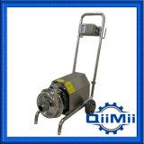 Pompe centrifuge hygiénique mobile dans l'industrie sanitaire AISI 316L