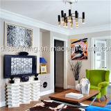 居間の照明のための現代金属のシャンデリアのハングランプ