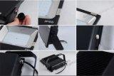 Projector ao ar livre 150W do diodo emissor de luz do mercado IP65 Wateproof da loja da estação do túnel da fábrica da alameda de compra do armazém da exposição do estaleiro do ginásio da mina