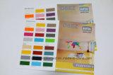 Brochure de peinture glacée pliée personnalisée pour la publicité
