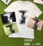 Van het Katoenen van de Slijtage van de Sport van de Vrije tijd van de T-shirt van Men&Women de Toevallige Hoogste Uitstekende kwaliteit Kledingstuk van Kleren