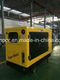 Triphase (380V) 신제품 8kw-18kw Quanchai 디젤 엔진 침묵하는 발전기