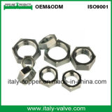 Certifié en laiton de qualité personnalisé l'écrou hexagonal (AV-BF-7042)