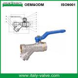 Válvula de bola de extremidade de compressão com venda quente (AV-BV-2029)