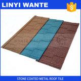 Wante/плитки крыши изготовления металлического листа покрынные камнем будут новым видом детектора металла