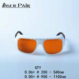 Protecção Laser 532nm & 1064nmfor 2 Linha e Ktp Óculos laser YAG Laser/óculos de segurança para o médico
