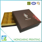 Caixa de presente vazia do chocolate do cartão da impressão Offset