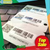 Code barres variable d'aperçus gratuits, carte en plastique d'indicateur de clé d'impression de code de QR pour l'hôtel, fidélité
