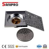 Стока ванной комнаты Sanipro сток пола крома популярного латунный