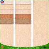 Tela tejida materia textil casera de la cortina del apagón del poliester