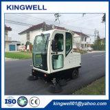 Electric Industrial Machine de nettoyage de l'Entrepôt/Balayeuse/Road Sweeper (KW-1900F)
