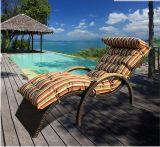 藤の水泳のラウンジ浜 ラウンジのサンルームの藤の家具
