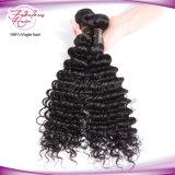Le cheveu malaisien de Vierge bon marché profonde d'onde de bonne qualité tisse