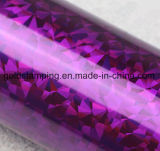Clinquant d'estampage chaud de laser d'animal familier métallique