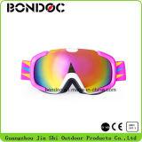 Belle jeunesse colorés anti brouillard de lunettes de ski
