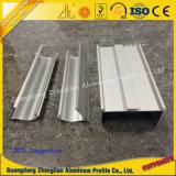 Perfis de limpeza de extrusão de alumínio para construção de salas limpas