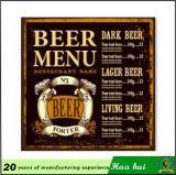 De hangende Triomfantelijke Boog van Parijs van het Beeld, de Tekens van het Tin, Teken c214-3 van het Bier van het Tin
