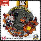 Lopende Medaille van de Herinnering van het Cijfer van het Beeldverhaal van de Eend van de School van de douane de Gele