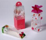 بيجيّة بلاستيكيّة واضحة محبوب صندوق مع طباعة