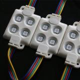 Paneles de visualización LED iluminado por los módulos LED
