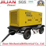 Generador de Guangzhou para el generador silencioso del diesel de la energía eléctrica del precio de venta 80kw 100kVA