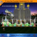 Fabricante decorativo de la fuente de la música del parque superior del grado