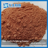 Pó de polir vermelho da Terra Rare com D50 1.5micron