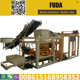 Qt4-25 automatique de la fabrication de briques au Rwanda en usine
