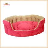 3개의 색깔 스웨드 낮잠 애완 동물 침대 & 개 침대
