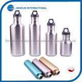 Bottiglia di acqua a parete semplice dell'acciaio inossidabile di sport classico con la protezione di sport