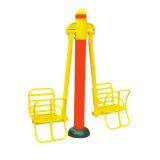 Parque al aire libre Dos asiento del columpio para sillas de aparatos de gimnasia para niños