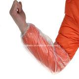 Cubierta plástica y Oversleeves de la funda del brazo del PE con la Líquido-Prueba