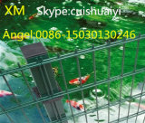 Cerca dobro soldada decorativa do jardim do engranzamento de fio do fornecedor de China