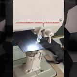 Aparamento automático da linha e máquina de costura do rolo de Postbed da emenda da parte traseira