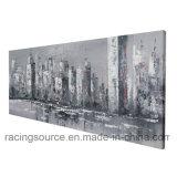 Impression de toile de décor de mur s'arrêtant de peinture à l'huile de New York City Scape