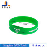 Wristband quente do silicone RFID Lf da venda para o sistema do comparecimento do tempo