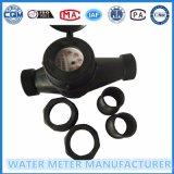 Contador del agua multi mecánico plástico del jet del ABS
