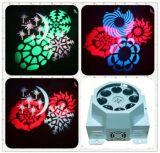 DJ лампа 3 Вт 8PCS LED Gobos эффект освещения