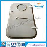 Puerta hermética de acero de la sola hoja marina