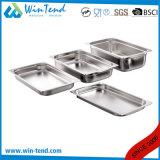 Hot Sale Restaurant électrolytique de cuisine en acier inoxydable taille 1/3 conteneur de cuisine