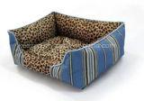 Kordsamt-/Oxford-Entwurfs-haltbares Hundebett/Haustier-Katze-Matten-Haus (KA00100)