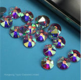 16 Rhinestone de cristal Swaro Preciosa Strass Flatback da faceta do reparo quente de pedra de imitação do corte 5A (classe de cristal de HF-ss16 ab/5A)