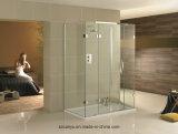 Parede de vidro do quarto de chuveiro do vidro de segurança com personalizado