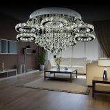 Modernisierte bernsteinfarbige K9 Kristall-LED Decken-Lampe (AQ-882666-7)