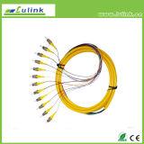 Faisceaux du SM millimètre 6 de tresse de fibre optique de faisceaux de Sc RPA 12