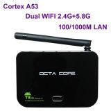 2g/16g Octa 코어 Rk3368 64bit는 WiFi 적재된 Z4 인조 인간 텔레비젼 상자 Ap6335 Xbmc Kodi에 의하여 이중으로 한다