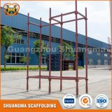 Aufbau-Stahlarbeitsbühne Kwikstage Systems-Baugerüst